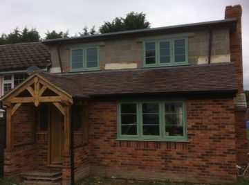 Chartwell green residence 9 windows installation in Berkshire